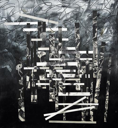 Aimee Joaristi, Autorretrato del Rey y la Reina, 197x150 cm. 2013