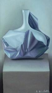 JAR / JARRÓN,oil on canvas / óleo sobre lienzo/ oil on canvas, 16 x 27 pulgadas / inches 2012.