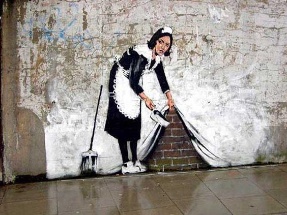 Bansky, Maid Graffiti