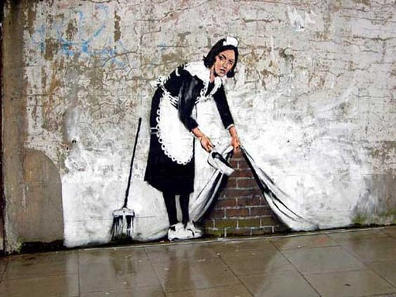 Bansky, Maid Graffiti